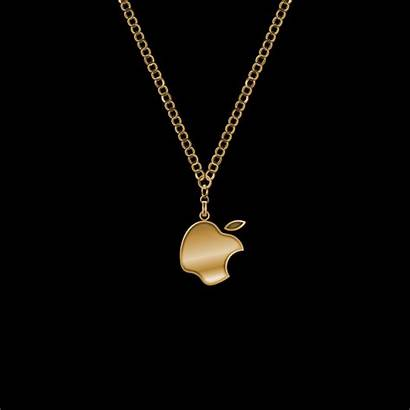 Gold Apple Wallpapers Iphone Chain Necklace Background