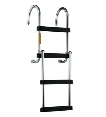 Boat Ladder Catches by Eez In Removable Pontoon Boarding Ladder With Stainless