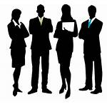 Manager Silhouette Career Team Customer Female Professional