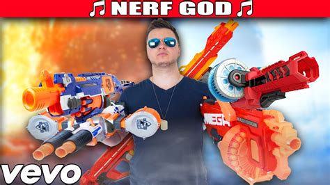 Nerf God Rap Song!!! Mask Off By Future Parody (nerf