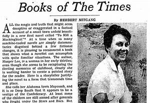 'Mockingbird' Reviews From 1960 The New York Times
