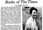 'Mockingbird' Reviews From 1960 - The New York Times