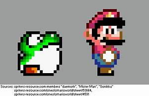 """Supper Mario Broth on Twitter: """"Transitional sprites ..."""