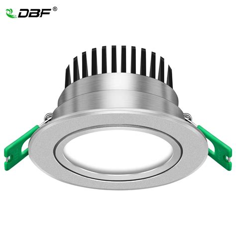 Led Spot Len by Dbf Silver Housing Frosted Len Led Recessed Downlight