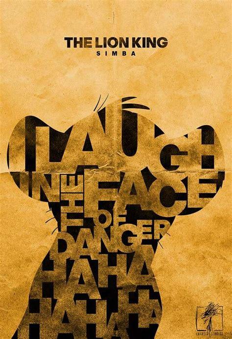 typographic minimalist movie posters typographic posters