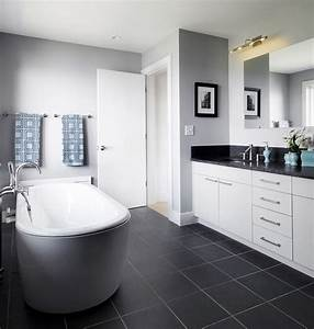 top and simple black and white bathroom ideas With black and white tile bathroom decorating ideas