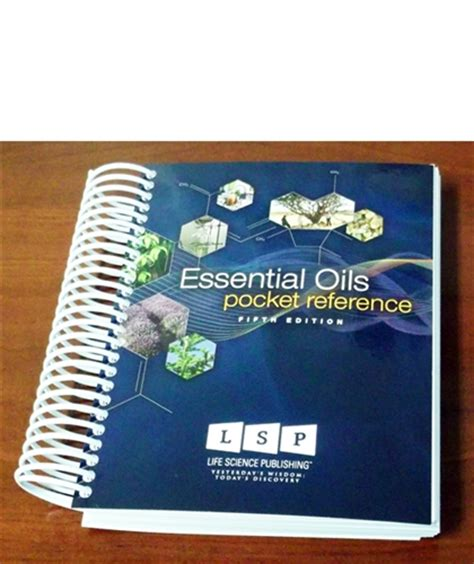 young living essential oils desk reference book essential oils pocket reference