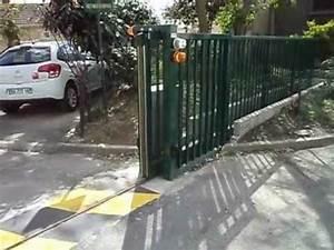 Installateur De Portail Motorisé : portail coulissant automatique ste picard youtube ~ Farleysfitness.com Idées de Décoration