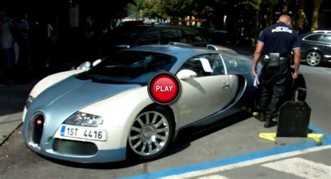 Watch Czech Police Slap A Wheel Clamp On A Bugatti Veyron 16.4