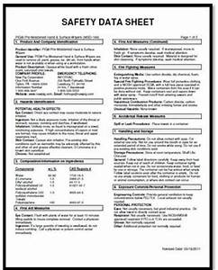 osha ghs sds example quotes With osha sds template
