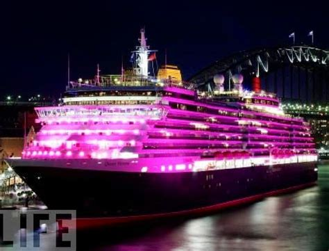 Pink Cruise Ship | Pink Is Pimp | Pinterest