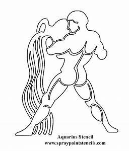 Zodiac Aquarius Drawing