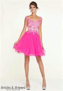 8th grade social dresses vestidos cortos de de color morado y fucsia tunada