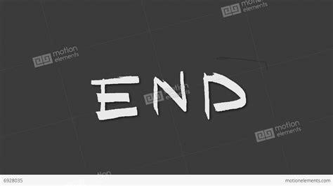The End 動畫素材 6928035