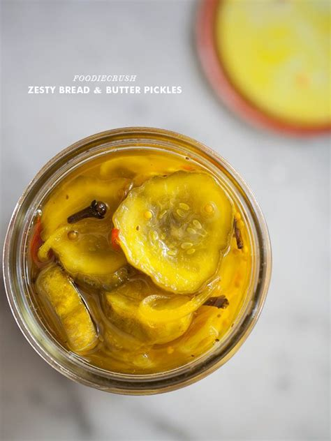 bread and butter pickles zesty bread and butter pickles recipe homemade a house and le veon bell