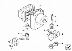 2004 Bmw 325ci Repair Kit  Control Unit Asc