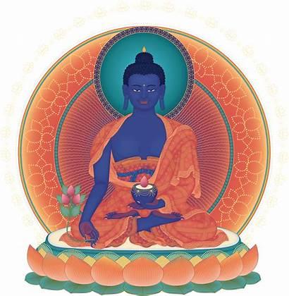 Buddha Medicine Meditation Chanted Buddhism Prayer Transparent