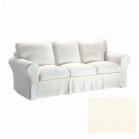 ikea white slipcover white slipcovered sofa ikea smileydot us