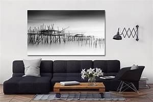 Tableau Deco Noir Et Blanc : quel cadre d co avec un canap gris ~ Teatrodelosmanantiales.com Idées de Décoration