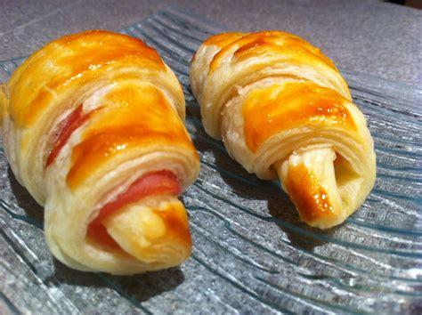 mini croissant jambon fromage chut je cuisine