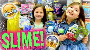 99Cent SLIME FLOAM & PUTTY VLOG & HAUL! ~ DOLLAR STORE ...