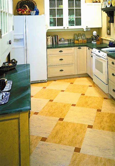 kitchen floor lino ideas for kitchen floors linoleum tile more