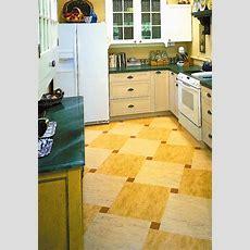 Ideas For Kitchen Floors Linoleum, Tile & More  Old