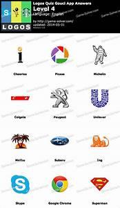 Logos Quiz Gouci App Level 4 | Logo quiz | Pinterest