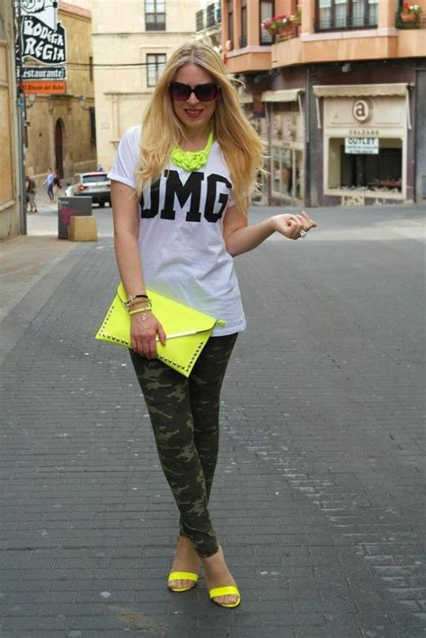fashion trend neon colors style motivation