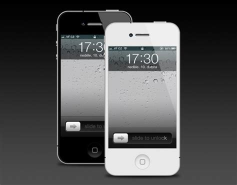 free iphone 4 iphone 4 template version 2 psd file free