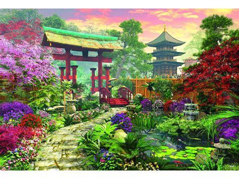 Japanische Gärten Zubehör by Japanischer Garten 3000 Teile Querformat Puzzle Educa