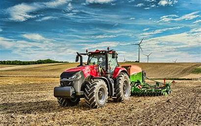 Case Ih Tractors Magnum Field Tractor Plowing