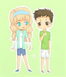 iCarly Freddie and Sam Fan Art