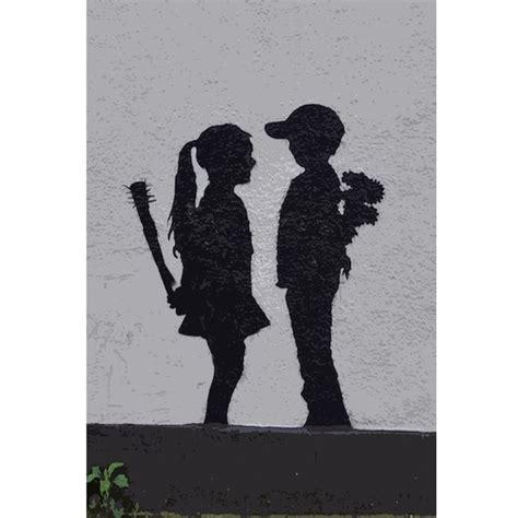 Boy Meets Girl Banksy Scd Art Pinterest Be Cool