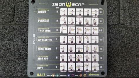 iron scap cross fit pinterest mondays squares  crossover