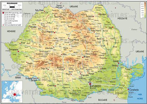 Carte De La Ville by Cartograf Fr Carte De La Roumanie