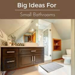 bathroom ideas for small bathrooms designs big ideas for small bathrooms