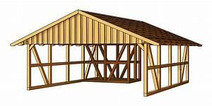 Holz Carport Preise : holz carport skanholz schwarzwald fachwerk doppelcarport vom garagen fachh ndler ~ Indierocktalk.com Haus und Dekorationen