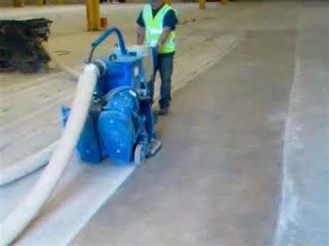 floor shot blasting concrete Floor Tec Blastrac Services