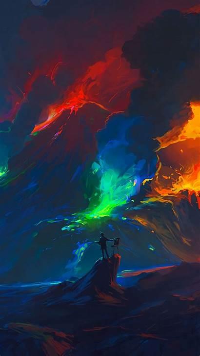 Keren Iphone Colorful Fantasy Gambar Wallpapers Android