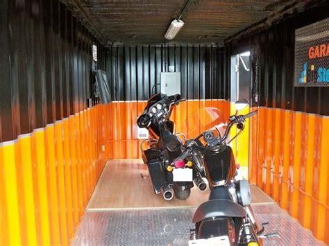 Temperatur Garage by Ein Container Als Garage Containerbasis De