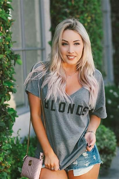 Blonde Brunette Ginger Bff Tee Blondie Girly