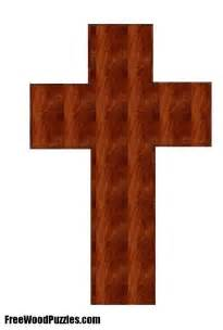 Wooden Crosses Patterns