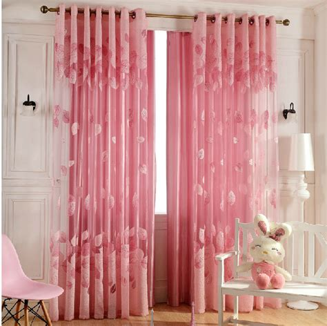 color  style fashion tulle sheer curtains romantic