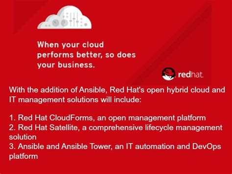red hat buys ansible boosts cloud automation