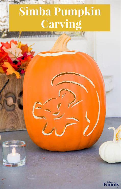 disney pumpkin carving templates simba pumpkin carving disney family