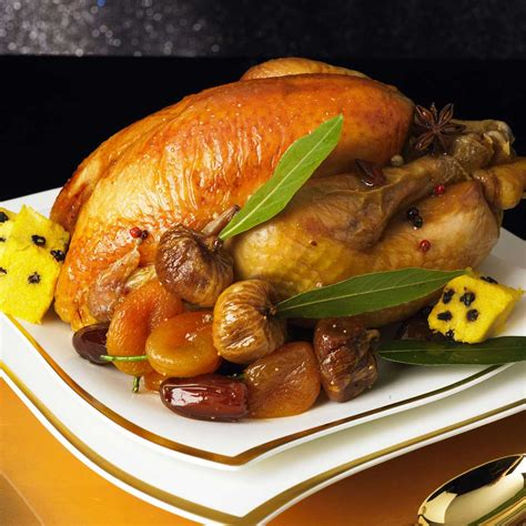 cuisiner une poularde pour noel poularde au miel d épices et ses fruits d hiver une