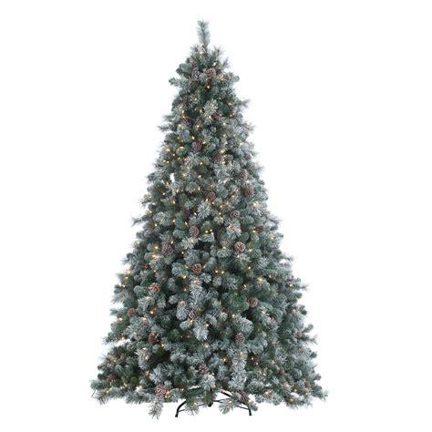 flocked alaskan fir pre lit ge tree best 28 flocked pre lit tree shop vickerman 7 ft indoor pine pre lit flocked