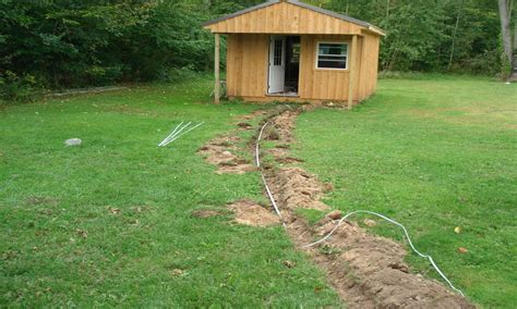 how to run electrical wire underground electrical wiring