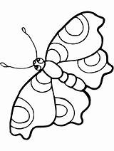 Butterfly Outline Coloring Clipart Clipartbest sketch template